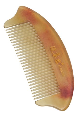 8100539 | Tan's Natural Ox Horn Comb | Medicine Health Care Good For Hair