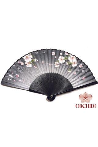 827-18 | Flower Design Hand Fan