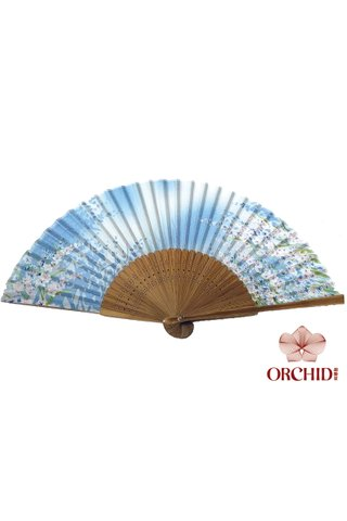 827-31 | Bamboo And Silk Chinese Style Fan