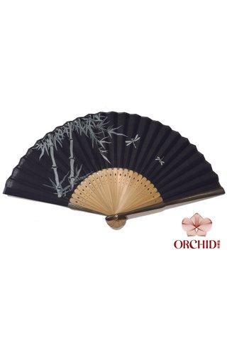 827-44 | Bamboo Design Hand Fan
