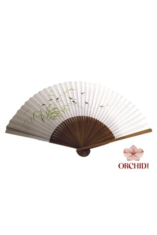 84827-08 | Bamboo And Rice Paper Hand Fan