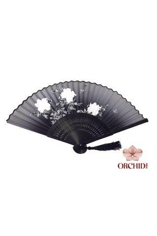 8482701 | 3 Big Flower Design Folding Hand Fan