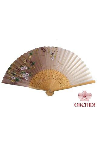 8482719 | Shiny Flower Design Hand Fan