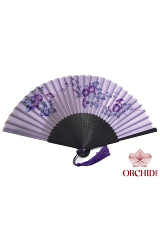 8484922 | Bamboo And Silk Chinese Style Fan