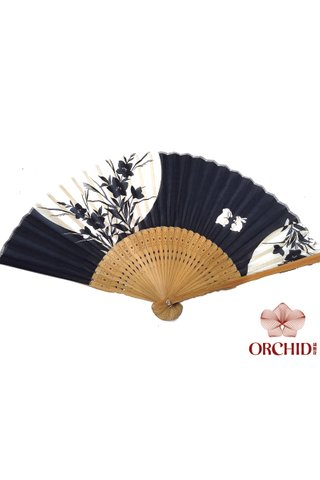 8484931 | Bamboo And Cotton Chinese Style Fan