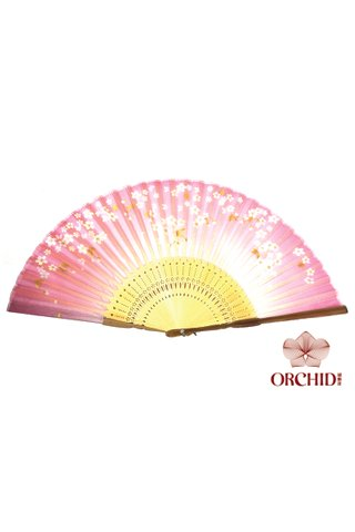 8484997 | Bamboo And Silk Chinese Style Fan
