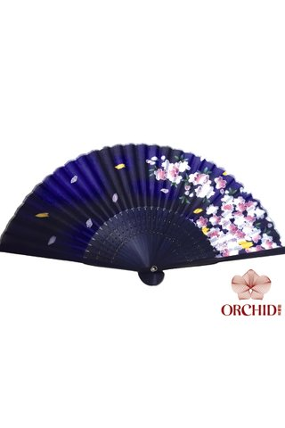 849-39 | Bamboo And Silk Chinese Style Fan