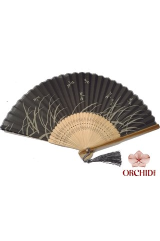 849-94 | Bamboo And Silk Chinese Style Fan
