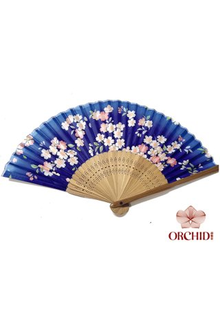 84920 | Flower Design Hand Fan