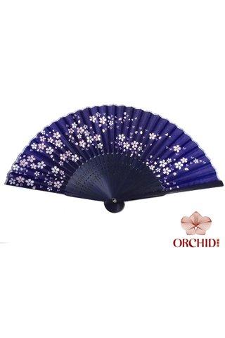 84929 | Flower Design Hand Fan