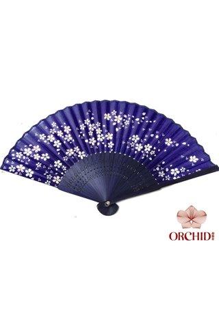 84931 | Flower Design Hand Fan