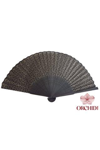 849 fish skin | Bamboo And Silk Chinese Style Fan