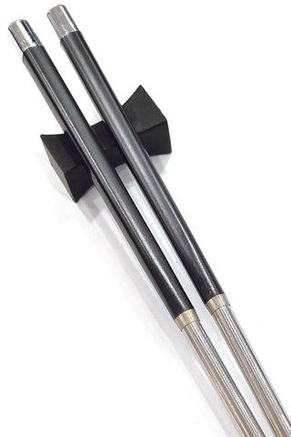 Steel Base Design | Alloy Chopsticks and Holders Dining Set