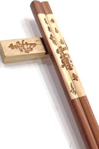 Big Long Life Design | Ironwood Chopsticks and Holders Dining Set
