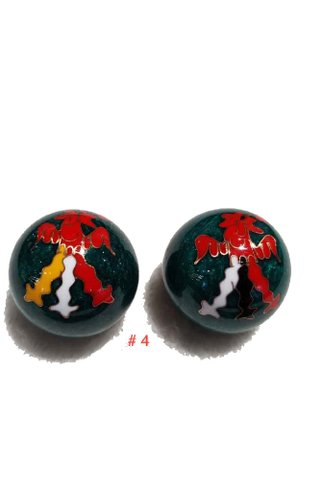 2pc Stainless Steel Hand Massager Ball Exercise Stress Ball 4
