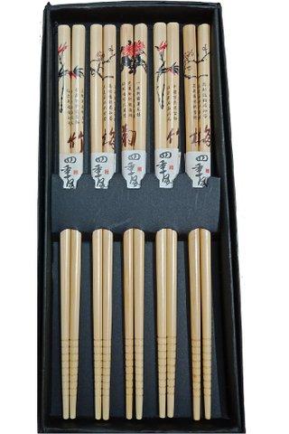 Bamboo Chopsticks Dining Set 4