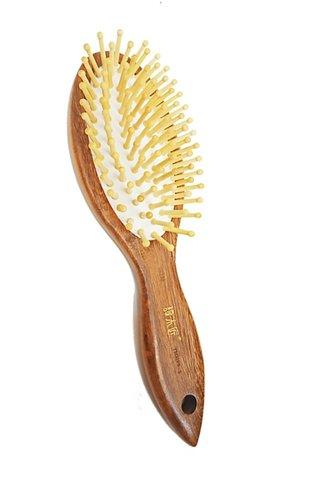 8100038 | Tan's African Teak Wood Antistatic Hair Brush