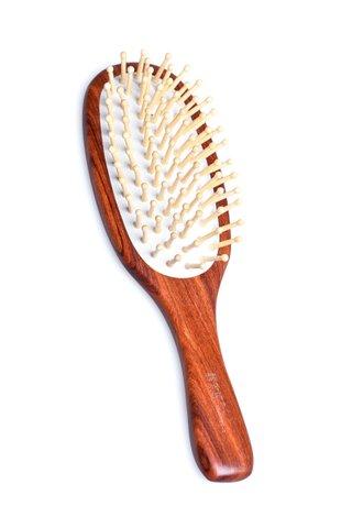 8100044 | Tan's Swartzia sp. Wooden Hair Brush