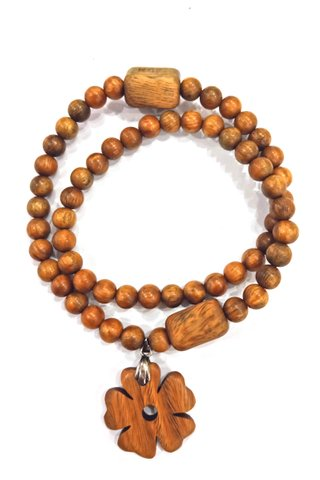 65 | Jade Sandal Wood Necklace