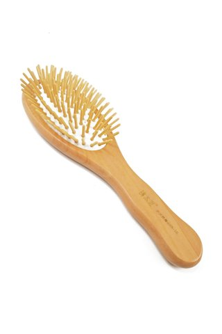 8100172 | Tabs Guibourtia sp. Wooden Hair Brush Antistatic Haircare brush