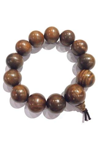 441 | Jade Sandal Wood Bracelet