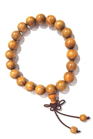 443 | Jade Sandal Wood Bracelet