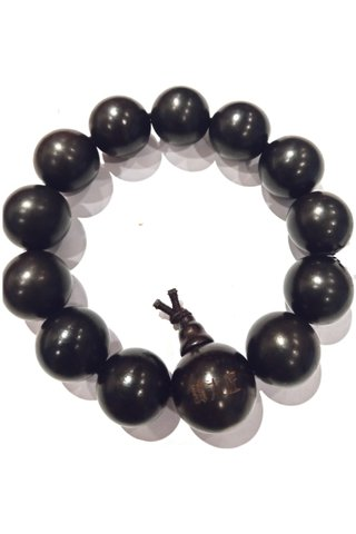 791| Black Wood Bracelet