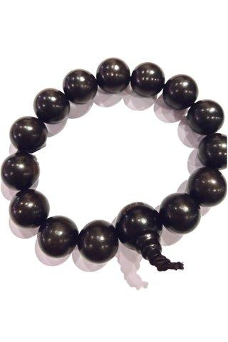 792 | Black Wood Bracelet