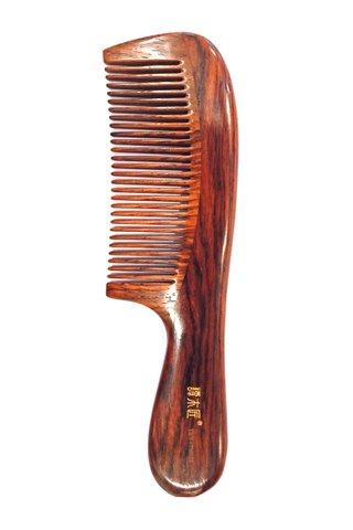 8100139 | Tan's Rose Wood Antistatic Comb