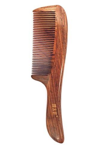 8100142 | Tan's Rose Wood Antistatic Comb