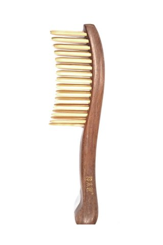 8100145 | Tan's Box Wood Massage Comb