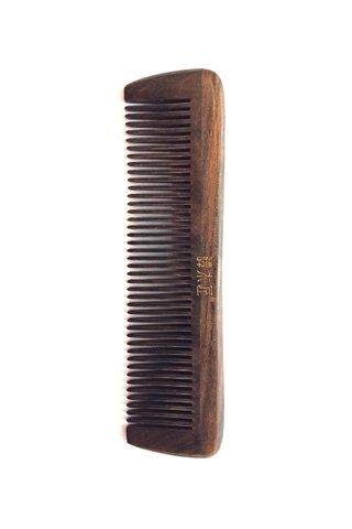 8100620 | Tan's Chacate Preto Wooden Antistatic Comb