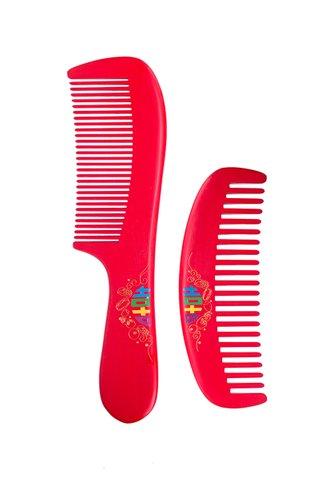 8100299 | Tan's Box Wood Wedding Comb 2 in 1 Gift Set