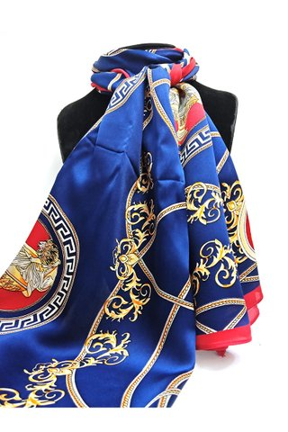 100% Silk Scarf Smooth and Soft Long Scarf For Female 16