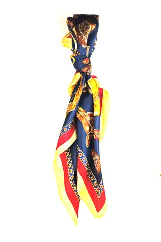 100% Silk Square Scarf Smooth and Soft Female 21