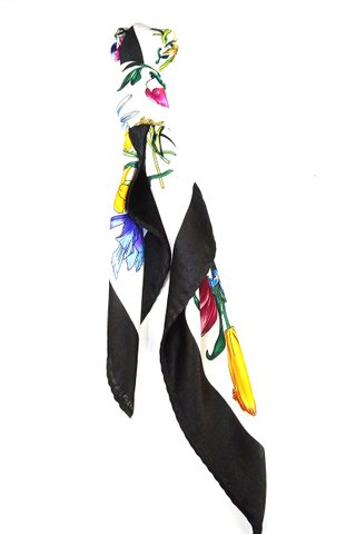 100% Silk Square Scarf Smooth and Soft Female 60