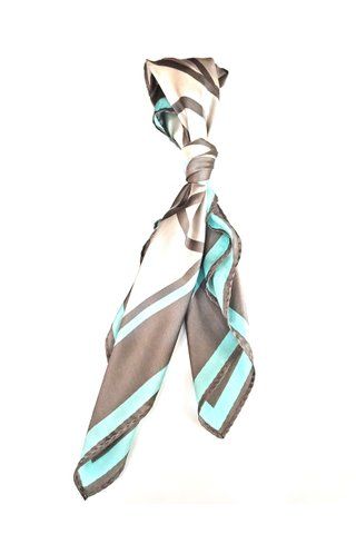 100% Silk Square Scarf Smooth and Soft Female 65